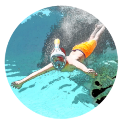 1 snorkeling S